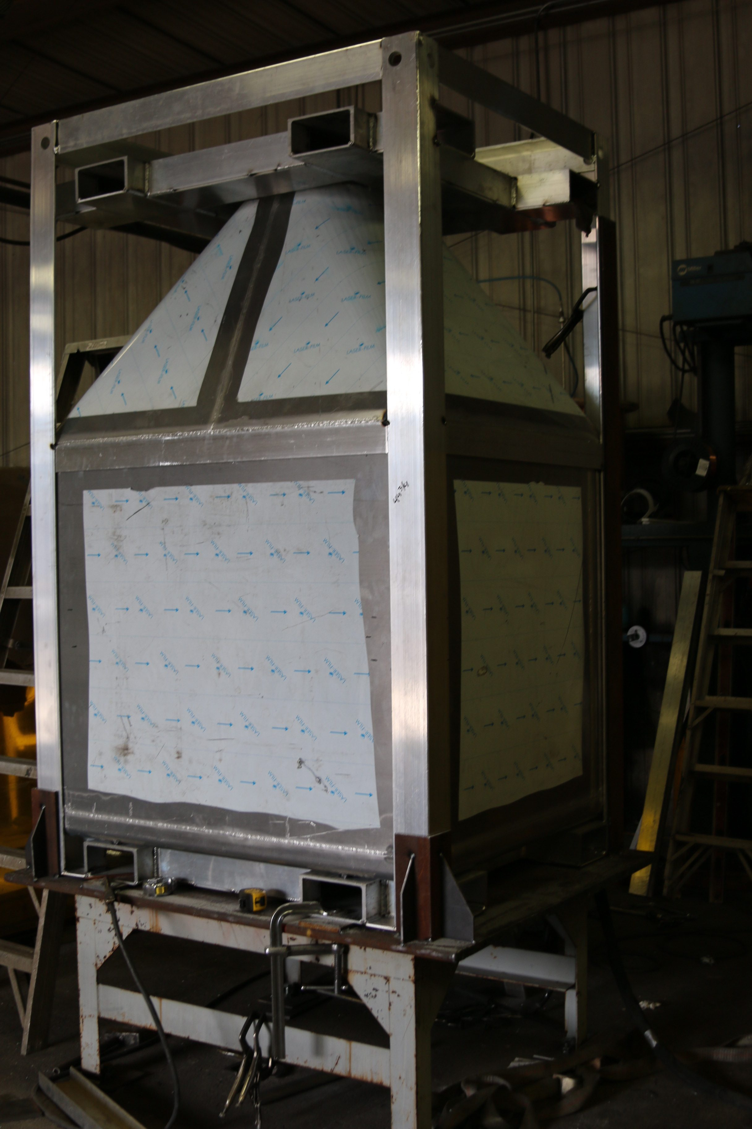 Custom Bins | JLMC: Custom Metal Fabricators